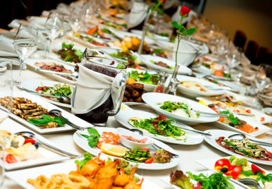 Wed caterers